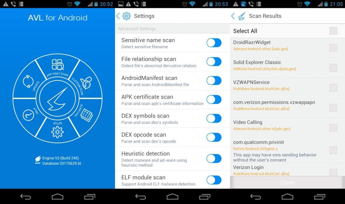 Подборка антивирусных приложений для Android. Часть 7