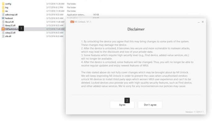 Разблокировка загрузчика в устройствах Xiaomi