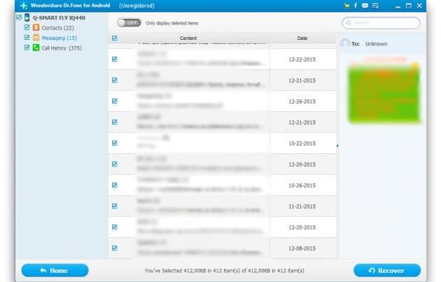 Восстановление удаленных данных на смартфоне и планшете