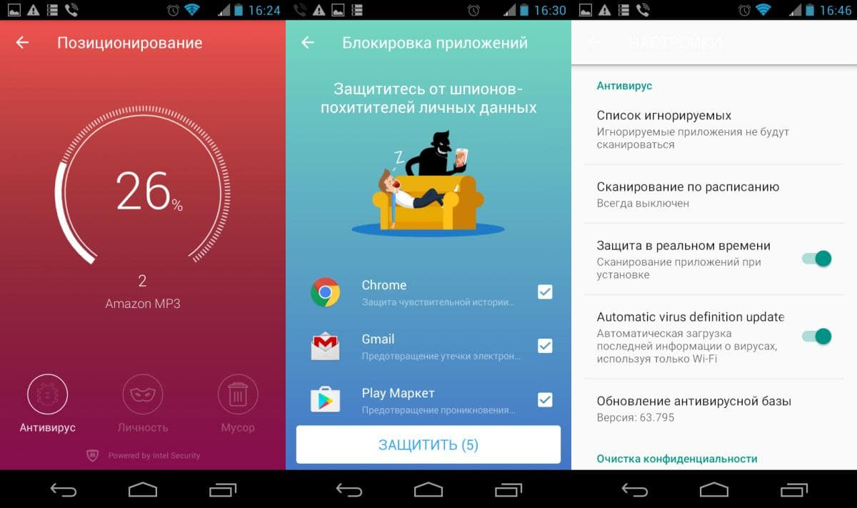 Подборка антивирусных приложений для Android. Часть 4