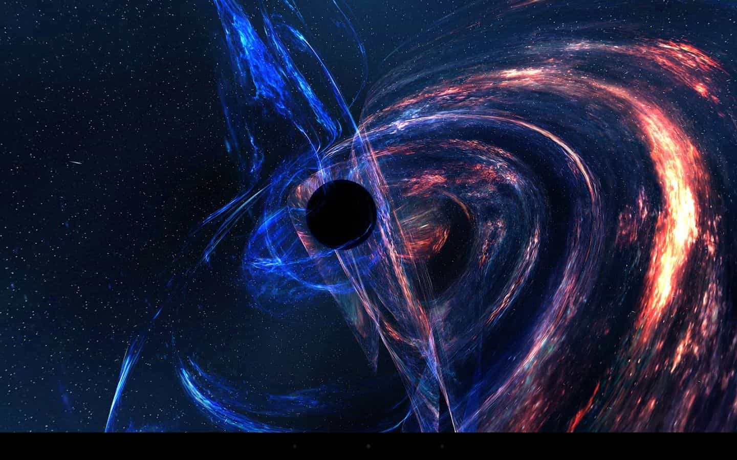 Supermassive Black Hole Live Wallpaper
