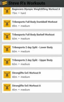 Tribesports Training
