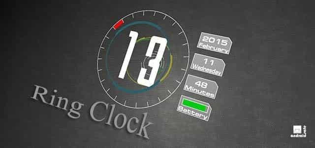 Ring Clock живые обои