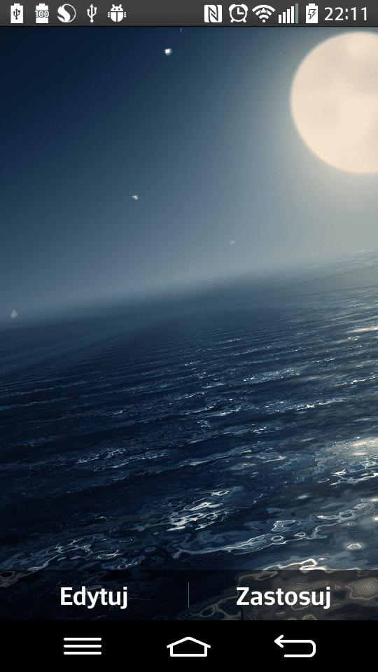 Ocean At Night живые обои