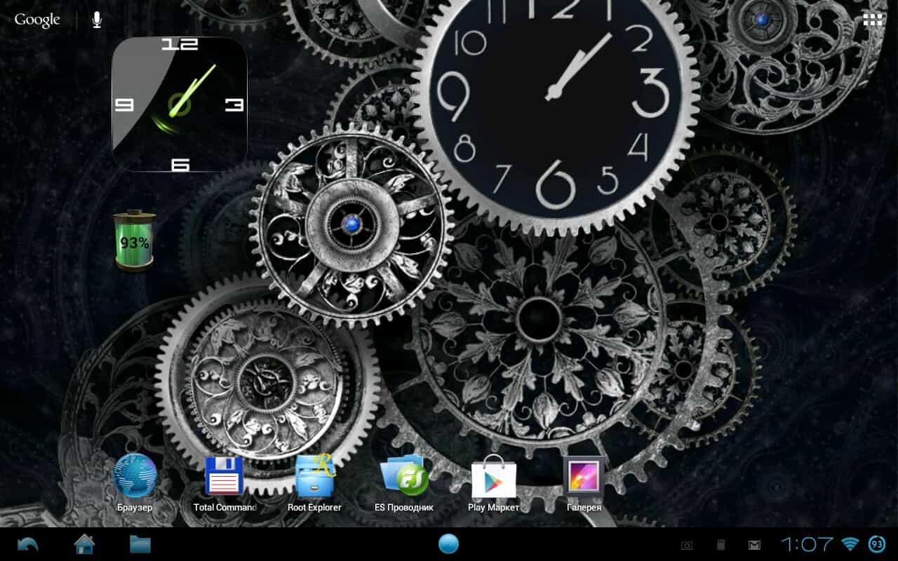 Black clock живые обои