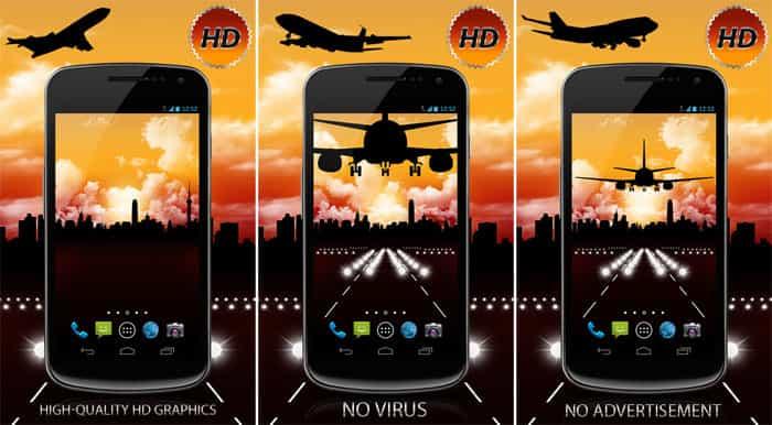 Aircraft Free HD живые обои