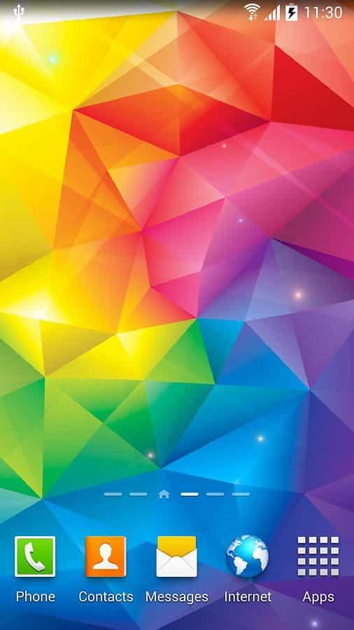 Crystals Live Wallpaper