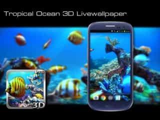 Tropical Ocean 3D Live Wallpaper