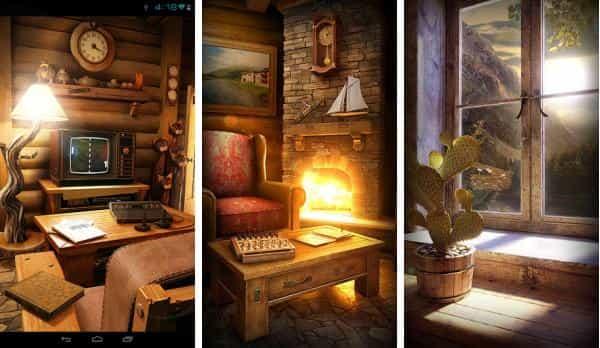 My Log Home живые обои