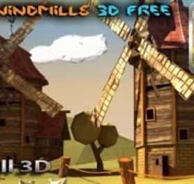 Paper Windmills 3D