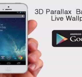 3D Parallax Live Wallpaper