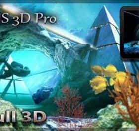 Atlantis 3D Live Wallpaper