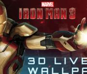 Iron Man 3 живые обои