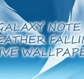 Galaxy Note 2 Feather Falling