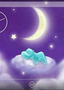 Hippo and the Moon Live Wallpaper