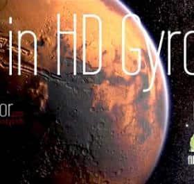 Mars in HD Gyro 3D XL