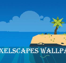 Pixelscapes живые обои