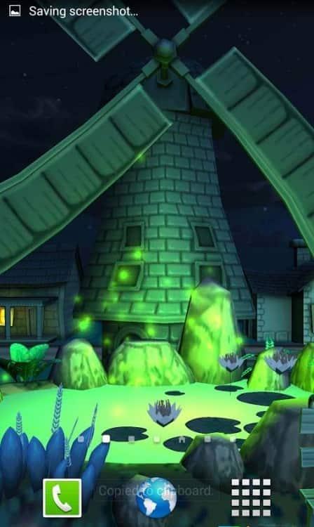Cartoon Town 3D живые обои