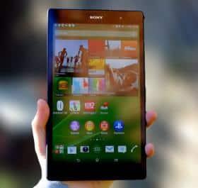 Sony XPERIA Z3 Tablet Compact: легок на подъем