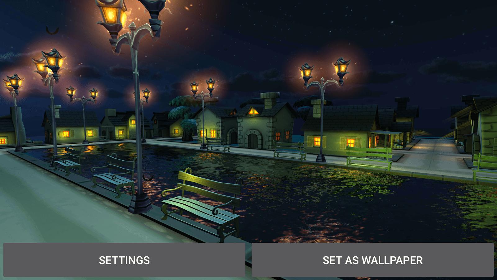 Обои фонари, вечерний город, ночной город. Города