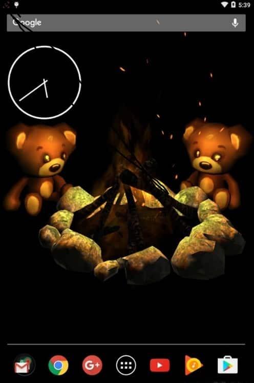 Teddy Live Wallpaper