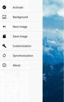 Rainpaper скриншот 1