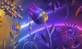 Glass Flowers живые обои
