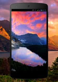 Mountain Lake живые обои