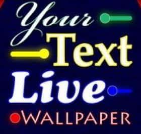 Your Text живые обои
