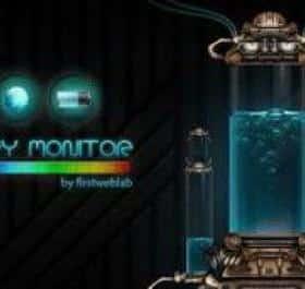 Brain Battery Monitor живые обои