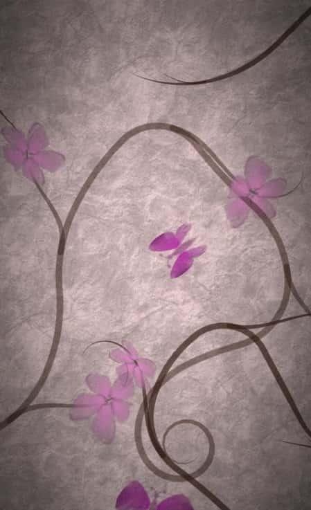 Flowering Vine Live Wallpaper