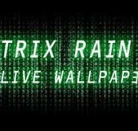 Matrix Rain 3D живые обои