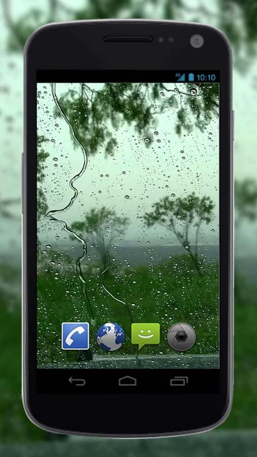 4K Rain скриншот 1