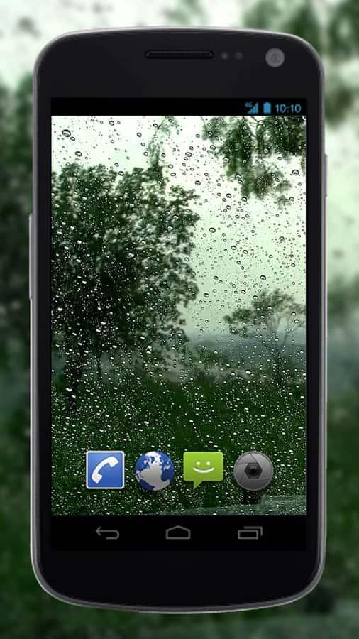 4K Rain скриншот 2