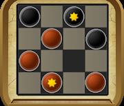 Шашки (Checkers Hero) logo