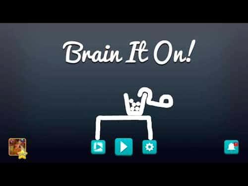 Brain It On! — Physics Puzzles скриншот 1