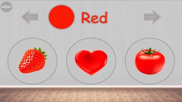 Учим цвета - игра для малышей скриншот 2