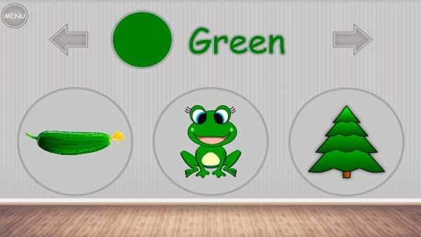 Учим цвета - игра для малышей скриншот 3