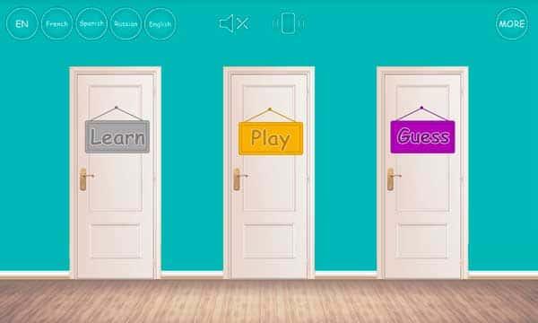 Учим цвета - игра для малышей скриншот 1