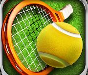 Теннис пальцем 3D - Tennis logo