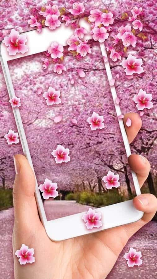 Romantic Sakura скриншот 1