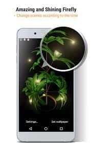 My 3D plant Live Wallpaper