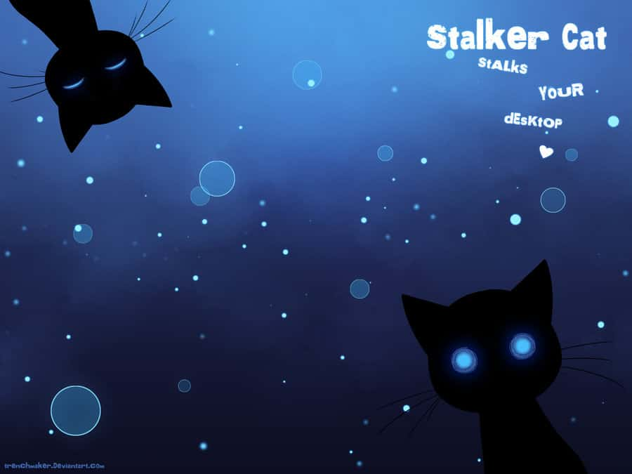 Sneaky Cat Live Wallpaper