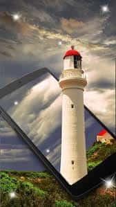 Shiny Lighthouse logo