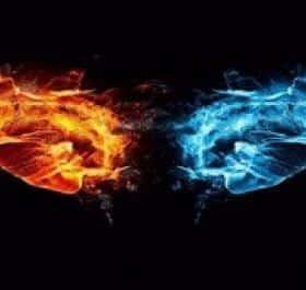 Fire and Ice живые обои