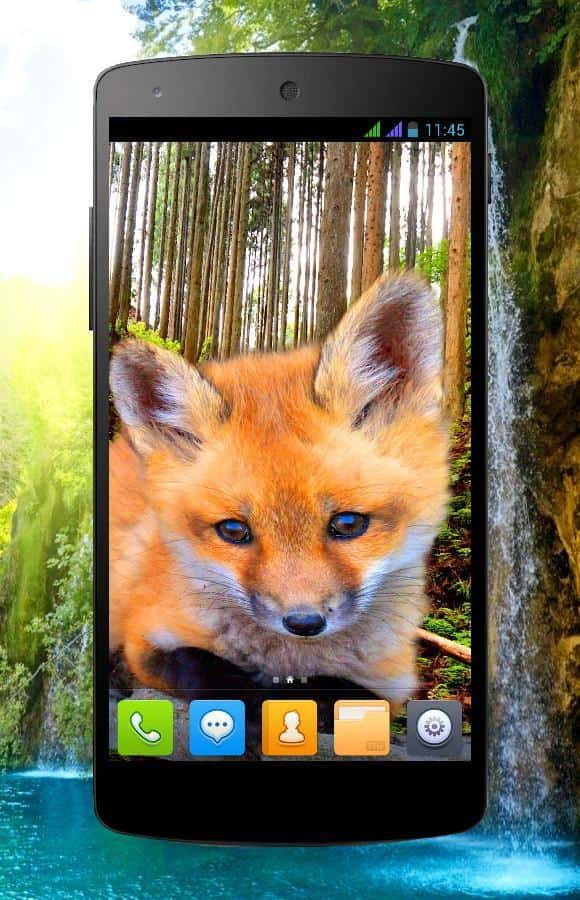 3D animals parallax скриншот 2