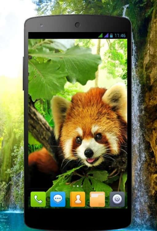 3D animals parallax live wallpaper