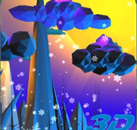Poly Island 3D Live Wallpaper