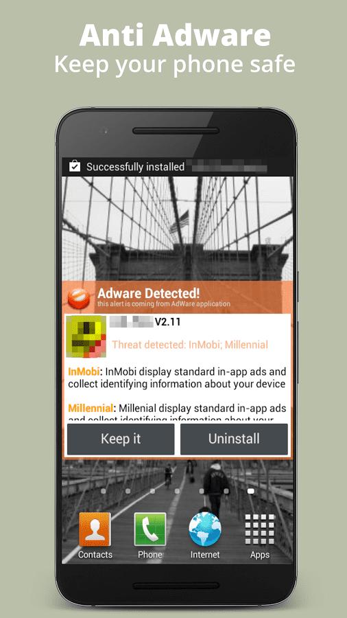 Anti Adware на андроид - скриншот 1