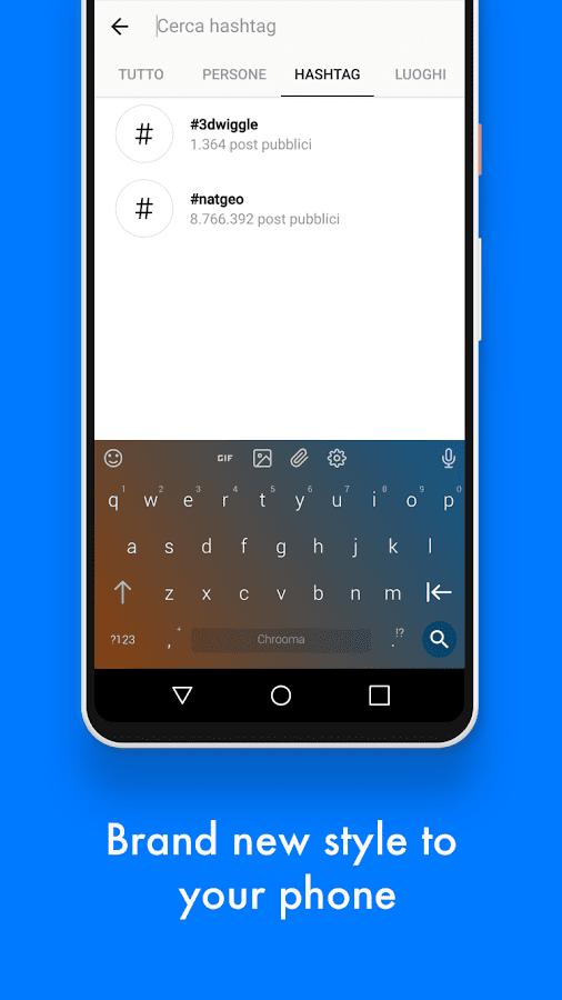 Chrooma Keyboard PRO скриншот 4